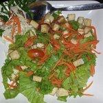 Luab tofu, vegetarian dish