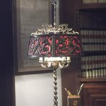 A glamorous desk lamp