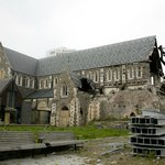Cathedral earthquake damage