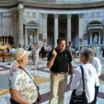 Inside the Pantheon with Marco