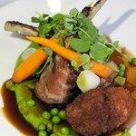 Delicious lamb