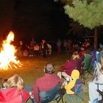 Bonfire Ghost Stories during Halloween Weekends