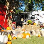 Fall RV Site during Halloween Weekends