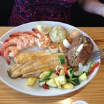 Broiled Seafood Dinner