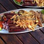 Mixed Grill-Teller für 2 Personen :)