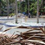 Pool at Barcelo punta cana closed