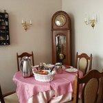 Im Frühstücksraum