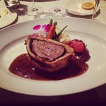 Beef Wellington was AMAZING!