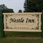 Nestle Inn B&B sign