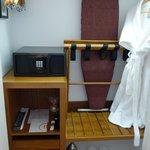 Room closet and safe