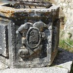trough?? (with Venetian coat of arms??)