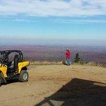 Vue du sommet des Tour CIP à Côté de la montagne du Diable