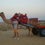 Enjoyable camel ride