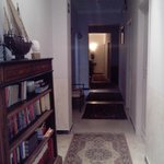 Cosy corridor leading to the rooms