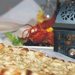 Indian Bread at Darbar Midtown Restaurant