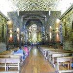Detalhe de dentro de uma igreja