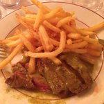 Entrecote and fries