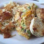 Humpty Dumpty omelette