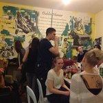 sala comum - sempre rola refeições coletivas!