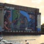 Midland is bekend om de vele muurschilderingen