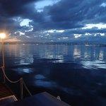Lake Garda by night (view from hotel)