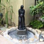 Statue at Pool