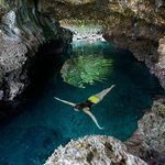 Bat Island Cave Swim