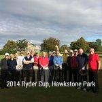 16 old boys at Hawkstone Park