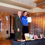 Trey Dees. Winning a Branson Performer Show Award. 2010