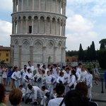 LaRondinePisa ama lo sport la scherma Pisa Fencing flash Mob