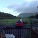 The view from the Breakfast room