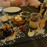 Gormet dessert board!