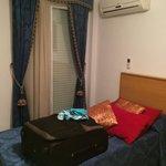 Chambre double avec clim, balcon