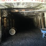 Enter the mine