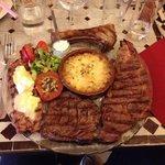 Je recommande cette assiette pour les carnivores!!!!