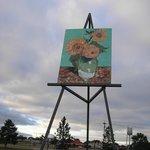 Giant van Gogh Painting