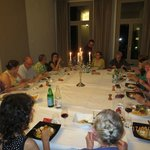 A great dinner with friends and family