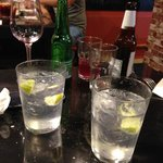 Finally, some real gin tonics!