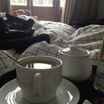 I mentioned that I wanted some tea and the staff brought it to my room no questions asked