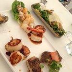 Season Seafood Antipasti plate