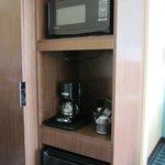 Microwave & frig