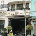 Exterior of Golden Lotus Hotel, Hanoi