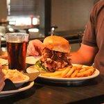 The famous Mountain Burger.  'Nuff said.
