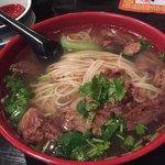 Hand pulled beef brisket noodles
