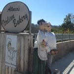 Alloco's Italian Bakery During Scarecrow Festival October 2014, Cambria, CA