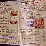 lunch buffet menu