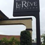 Hotel La Reve Entrance