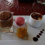 Cafe Gourmand dessert abundance