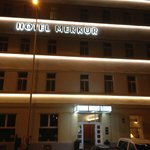 Merkur Hotel by night