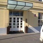 Merkur hotel entrance